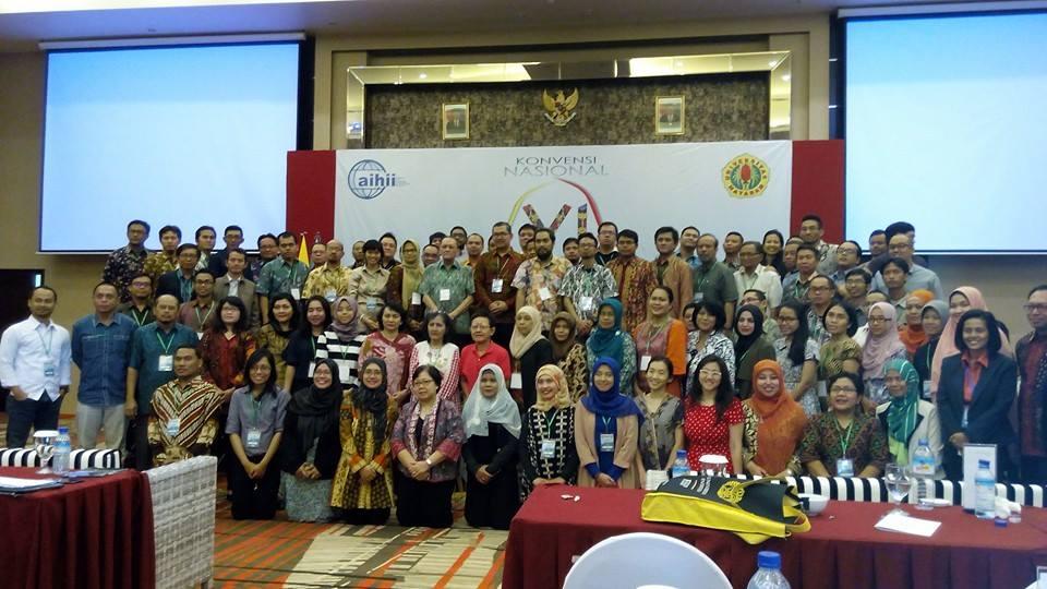 Sambutan Ketua AIHII 2014-2017 dalam Vennas VI di Lombok Mataram